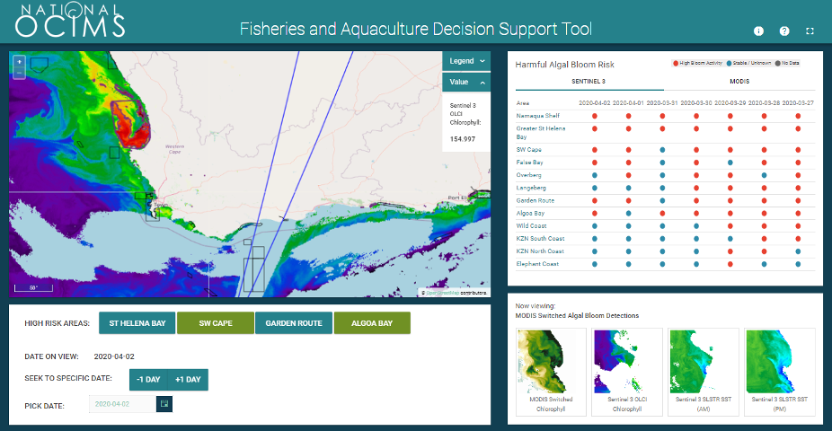 OCIMS Fisheries and Aquaculture Decision Support Tool