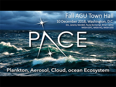 PACE Town Hall at AGU