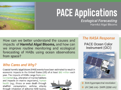 Ecological Forecasting: Harmful Algal Blooms