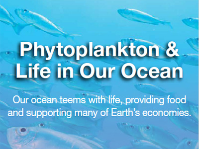 PACE will provide the first-ever global measurements designed to identify the composition of communities of phytoplankton. Credit: NASA/GSFC