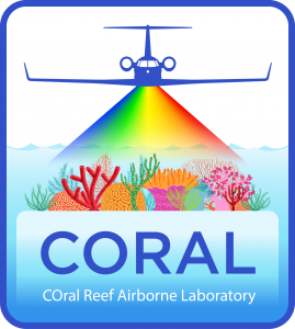 Logo for the COral Reef Airborne Laboratory (CORAL) field campaign.
