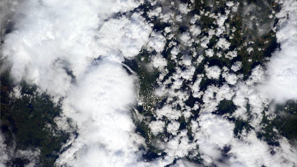 Clouds and aerosols from the Space Station