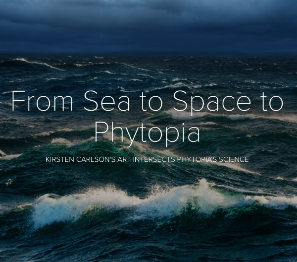 Sea to Space to Phytopia brochure cover page