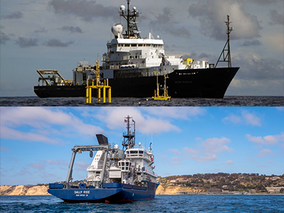Research Vessels for EXPORTS