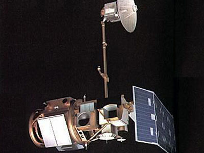 An image of Landsat-4, which was launched in 1982. Credit: NASA