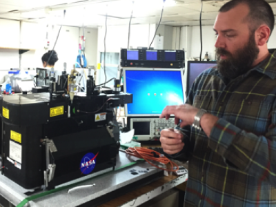 Jason Graff Examines Plankton Optical Responses