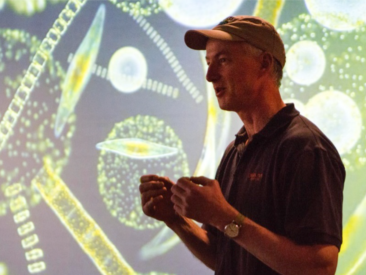 NAAMES Chief Scientist Mike Behrenfeld explains the importance of plankton