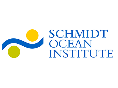 Logo for the Schmidt Ocean Institute, sponsor of the Sea to Sky Particle Investigation cruise. Credit: Schmidt Ocean Institute
