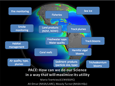 Maximizing the Societal Benefits of PACE IOC Data