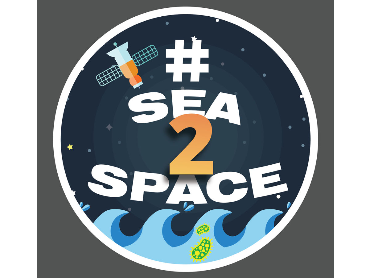 Logo for the Sea to Space Particle Investigation cruise