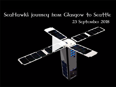 This video documents the journey of SeaHawk from Clyde Space in Glasgow, Scotland to Spaceflight Industries in Seattle, Washington, U.S. Credit: NASA/GSFC