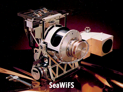 SeaWiFS Instrument Credit: NASA