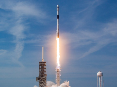 On November 16, 2018, the SpaceX Falcon 9 first stage booster successfully completed its static test fire. The first stage SpaceX Falcon 9 booster used to launch SeaHawk-1 has already successfully flown and landed on two previous missions (shown here) making this the first SpaceX booster to make a third launch. Credit: SpaceX